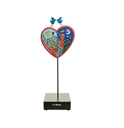 Goebel James Rizzi Pop Art Love in the Heart of City - Figur 26101541