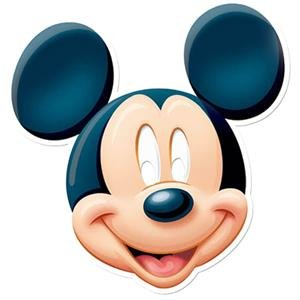 Mickey Maus Maske - Disney Maske (Packung mit (Lace Maske Red)