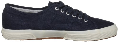 Superga 2750 LINU, Damen Sneaker Blau/940 Navy
