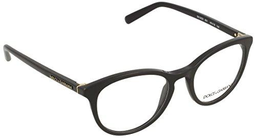 6b7ea59e8a Dolce & Gabbana Montures de lunettes Pour Femme 3223 - 501: Black - 47mm
