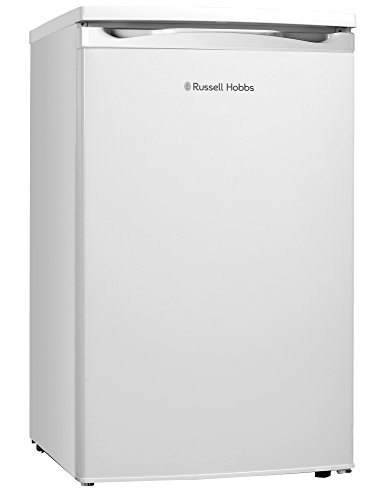Russell Hobbs RHUCLF2W White Under Counter 50cm Wide Freestanding Larder Fridge , Free 2 Year Guarantee