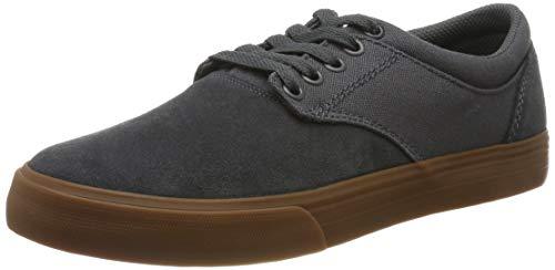Supra Chino, Zapatillas de Skateboard Unisex Adulto, Gris (Dk Grey-Gum-M 12), 40...