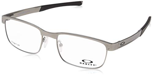 187800c62e Oakley Surface Plate, Monturas de Gafas para Hombre, Plateado 54