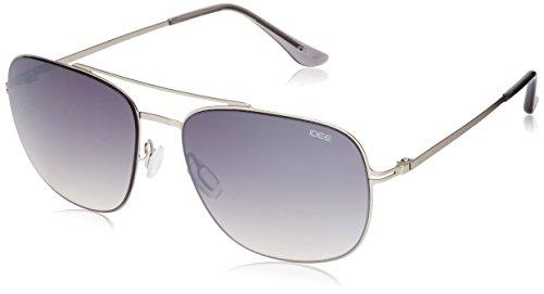 IDEE Gradient Square Men's Sunglasses - (IDS2064C3SG|57 White Mirror lens) image