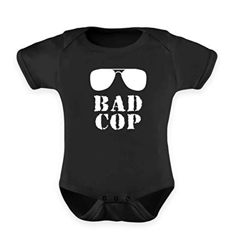 Bad Cop Good Cop Partnerlook Für Vater und Sohn Freunde Lustiges Design - Baby Body
