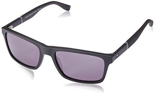 Tommy Hilfiger Herren TH 1405/S P9 KUN 56 Sonnenbrille, Schwarz (Black/Grey),