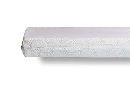 Wendre 2-in-1 Matratzen Topper - 200x200 | Komfort durch viscoelastische Schicht & unterstützenden Kaltschaum | Zertifiziert & Atmungsaktiv | Langlebige Matratzenauflage - 200 x 200 x 7 cm - Komfort-topper