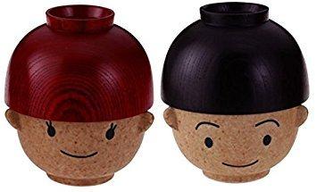 Boy Rice & Soup Bowls Set (Japan) by Sun Art