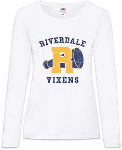 Kostüm Baseball Hunde - Vixens Frauen Damen Langarm T-Shirt Größen XS - 2XL