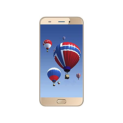 AllCall Atom 2.5D Curved Screen Dual Rear Cams Android 7.0 Quad Core Mobile Phone Gold
