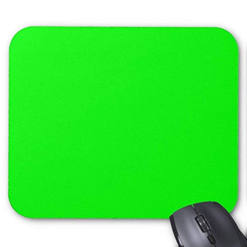 ASKSSD 00ff00 Lime Green Mouse Pad 18 Times 22 cm -