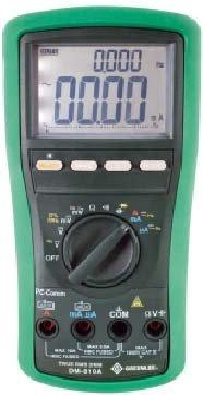 GREENLEE DM-810A Hand-Multimeter digital CAT IV 1000V Anzeige (Counts): 10000