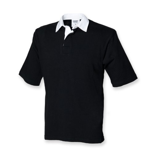 Front Row Kurzarm Rugby-Shirt