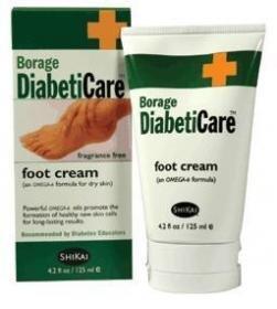 Shikai Borage diabeticare foot cream - 4.2 oz by SALK COMPANY