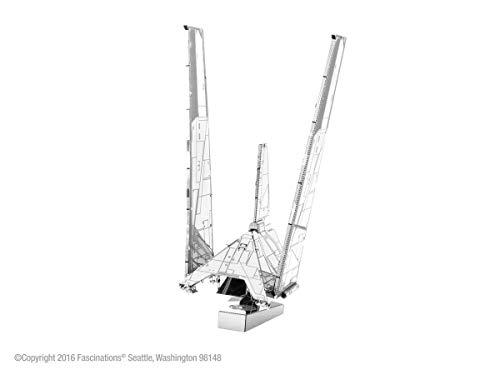 Metal Earth MMS274- Star Wars 3D Modell, Krennic Imperial Shuttle, Metall, 12 x 17 cm (Metall Starwars Modell)