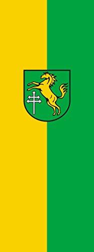 magFlags Drapeau Ingoldingen | portrait flag | 6m² | 400x150cm