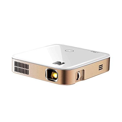 KODAK Luma 350 Portable Smart Projector  Powerful Ultra HD Rechargeable Video Projector w Android 60 Streaming Apps Wi-Fi Mirroring Remote Control  Crystal-Clear Up to 200