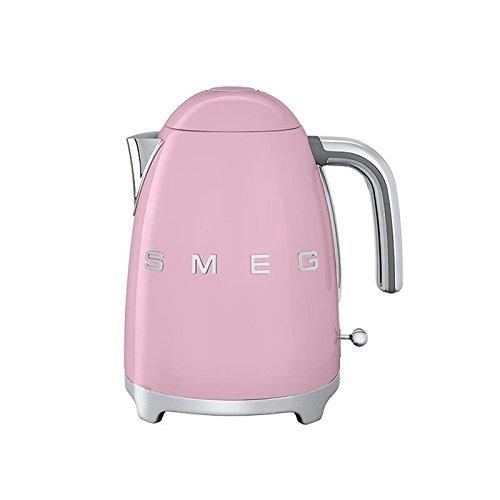 Smeg SMEG KLF01 Wasserkocher 1,7L, cadillac pink lackiert integriertes Heizelement Soft-Opening