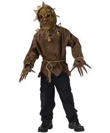 Kostüm Scarecrow - Morris Costumes Scarecrow Child 8-10