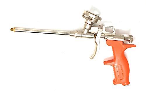 Schaumpistolen, Bauschaum PU Expanding Foam Abdichtungspistole, PU Foam Metallkörper Pro Heavy Duty Schaum Ausweitung sprayer PU Bauschaumpistole (Gehäuse aus Metall, mit Kunststoffgriff)