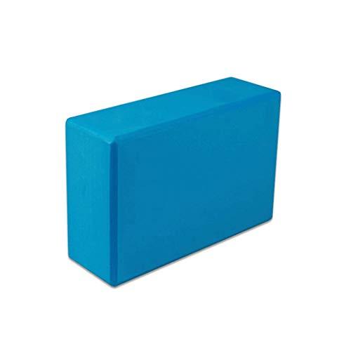 Yoga Brique Haute Densité Yoga Oreiller Aide Tapis De Yoga Yoga Oreiller Auxiliaire Brique (Color : Blue)