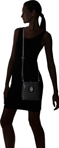 Bags4Less - Rania, Borse a tracolla Donna Nero (Schwarz)