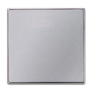 Niessen 8501 PL - Tecla Interruptor/conmutador/Cruz/pulsador, Color Negro y Plata