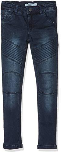 NAME IT Mädchen Jeans NKFPOLLY DNMTEONA 3078 Pant NOOS Blau Dark Blue Denim, 104