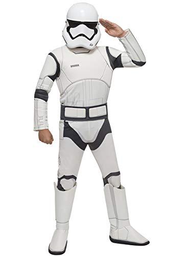 Kostüm Stormtrooper Junge - Rubie's Stormtrooper Kostüm für Jungen Star Wars Episode 7