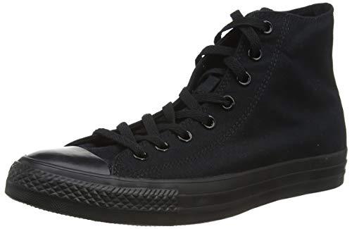 Converse Unisex M3310C C Taylor A/S Hohe Sneaker,Schwarz (Black Mono), 46