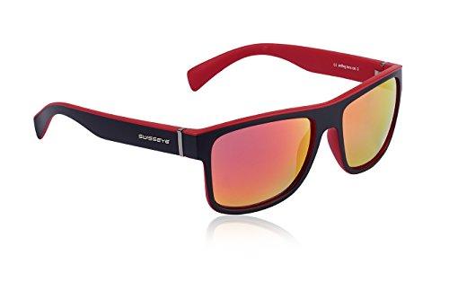 Swiss Eye Sportbrille Avenue, Black Matt/Red, One Size, 14382