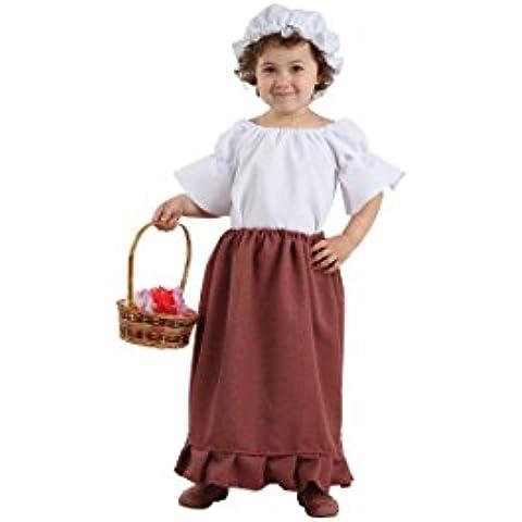 Disfraces FCR - Disfraz campesina talla 2 años