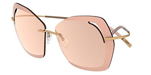 Sonnenbrillen Silhouette PERRED SCHAAD 9910 LIGHT PINK GOLD/PINK Damenbrillen