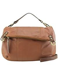 7652e3b60e67 Manzoni Tan Colored Women s Leather Shoulder Bag