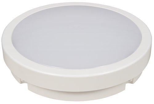 Preisvergleich Produktbild LED-Deckenleuchte McShine ''Moon-R''. 22cm-Ø. 15W. IP44. 1200lm. 3000K. warmweiß