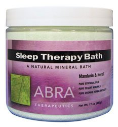 Sleep Therapy Bath, Mandarin Néroli 17 oz (482 g) - Abra Therapeutics