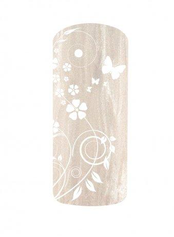 Vernis semi permanent métallisé blanc NDED 15ml - 9107