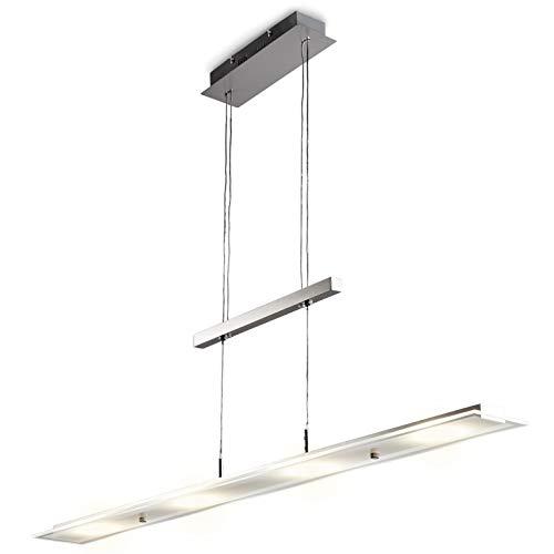 B.K. Licht Pendelleuchte, LED Platine Inklusive, Hängelampe Esszimmer, Küche,  Wohnzimmer, 18W