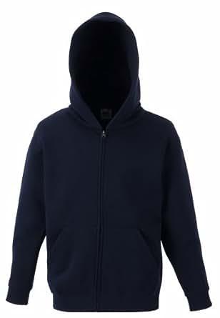 Kinder Kapuzen Sweatjacke Kids Sweatshirt Pullover Hoodie Shirt verschiedene Farben und Größen - Shirtarena Bündel