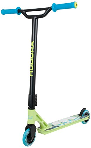 HUDORA Stunt-Scooter YY-11 grün/blau - 14120 - Freestyle Tretroller