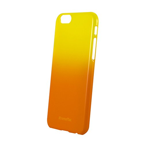 XtremeMac Microshield Fade Schutzhülle für Apple iPhone 6+/6S+ schwarz Orange