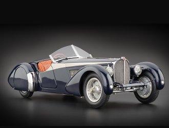 Preisvergleich Produktbild Bugatti Typ 57 SC-Korsika (1938) Druckguss Modell Auto