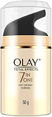 Olay Day Cream Total Effects 7 in 1, Anti-Ageing Moisturiser, 50g