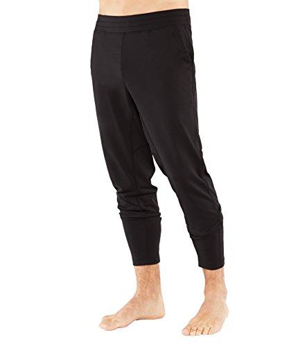 Manduka Men 's The Now Pants Gr. Large, schwarz