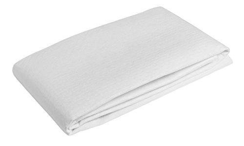 sleepling Matratzenunterlage/Matratzenschoner Made in Germany, als hochwertige Auflage aus Nadelfilz für den Lattenrost in 90 x 200 cm, weiß