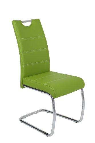 Schwingstuhl Flora 4er Set Grün Apollo