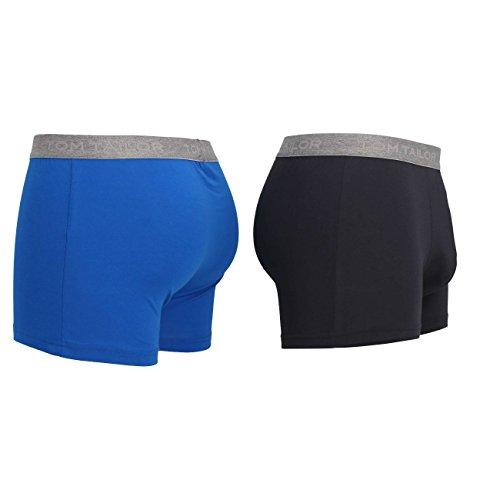 TOM TAILOR Herren Pants, 2er Pack blue-anthra