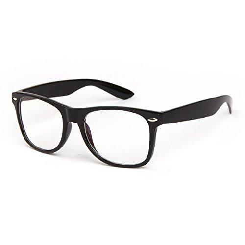 SHEEN KELLY Damen Herren Retro schwarz Lesebrille Brille Trendige Lesehilfe Reading glasses