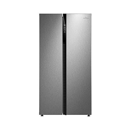 Continental edison ceranf587ix - réfrigérateur Side by Side - 510 l (335 + 175 l) - Froid no Frost - a+ - l 89,5 x h 178,8 cm.