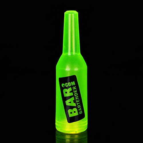 HongPei Farbe Phantasie Barkeeper Übungsflasche Flasche Werfen Praxis Flasche Barkeeper Kunststoff Weinkeller Barkeeper Performance Bar Flasche-12 (12 Weinkeller Flasche)